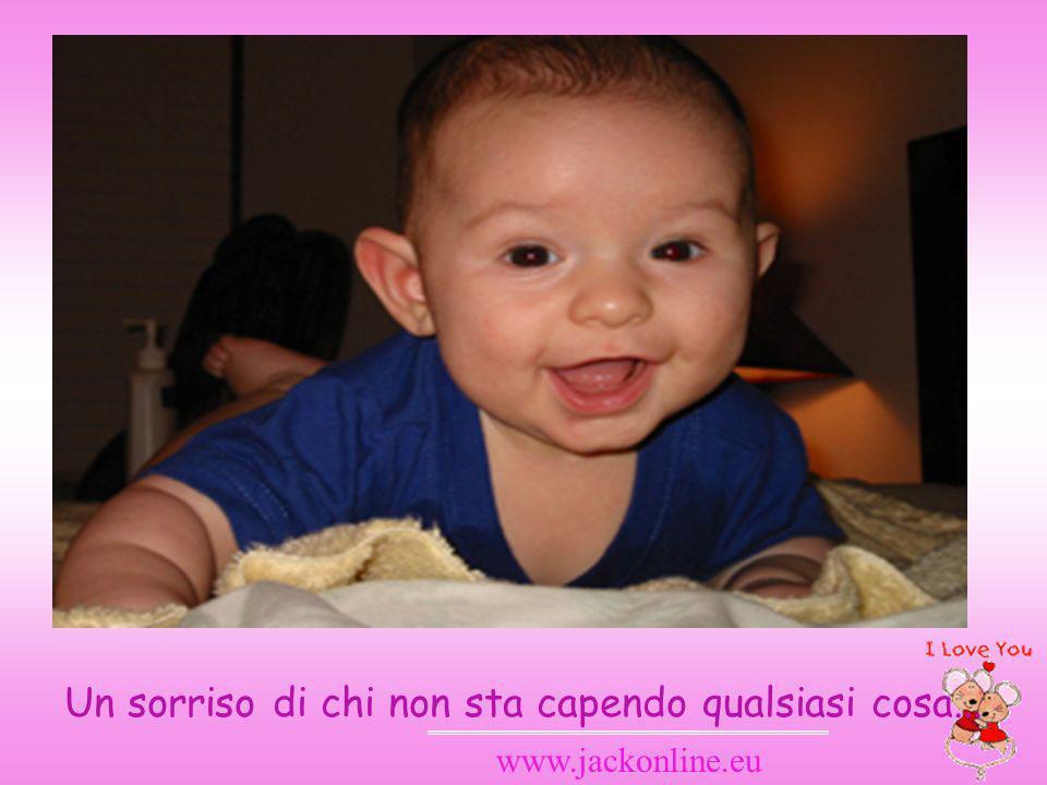 www.jackonline.eu Un sorriso di chi non sta capendo qualsiasi cosa...