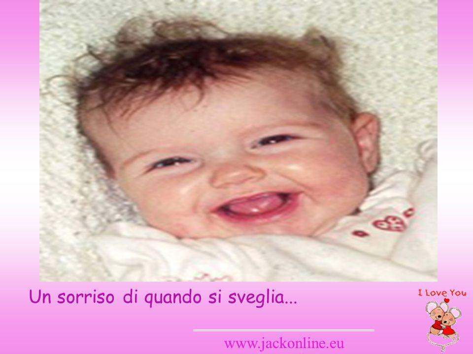 www.jackonline.eu Un sorriso di quando si sveglia...