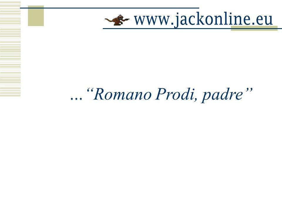 …Romano Prodi, padre