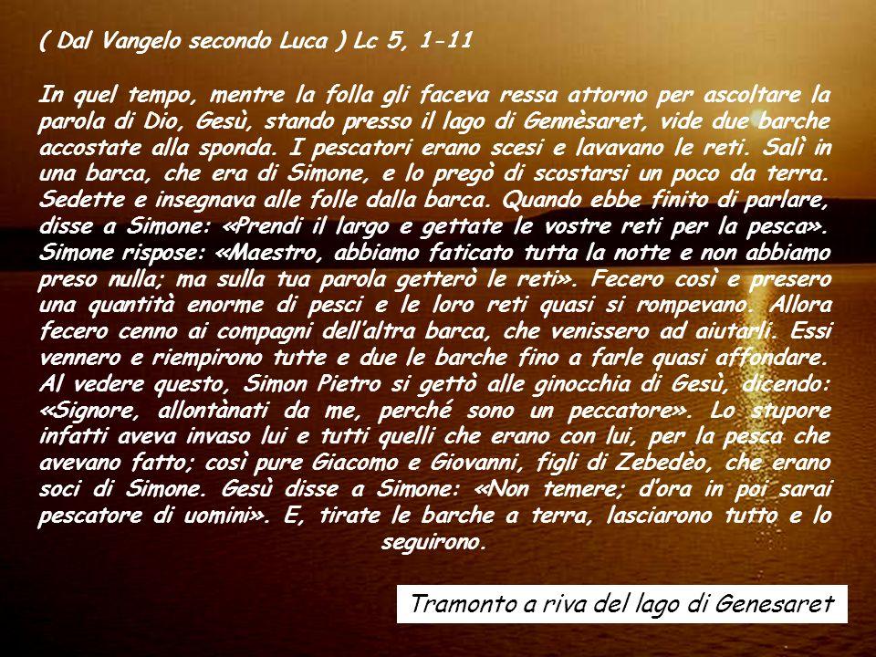 ALLELUIA (Mt 4,19) Venite dietro a me, dice il Signore, vi farò pescatori di uomini. ALLELUIA (Mt 4,19) Venite dietro a me, dice il Signore, vi farò p