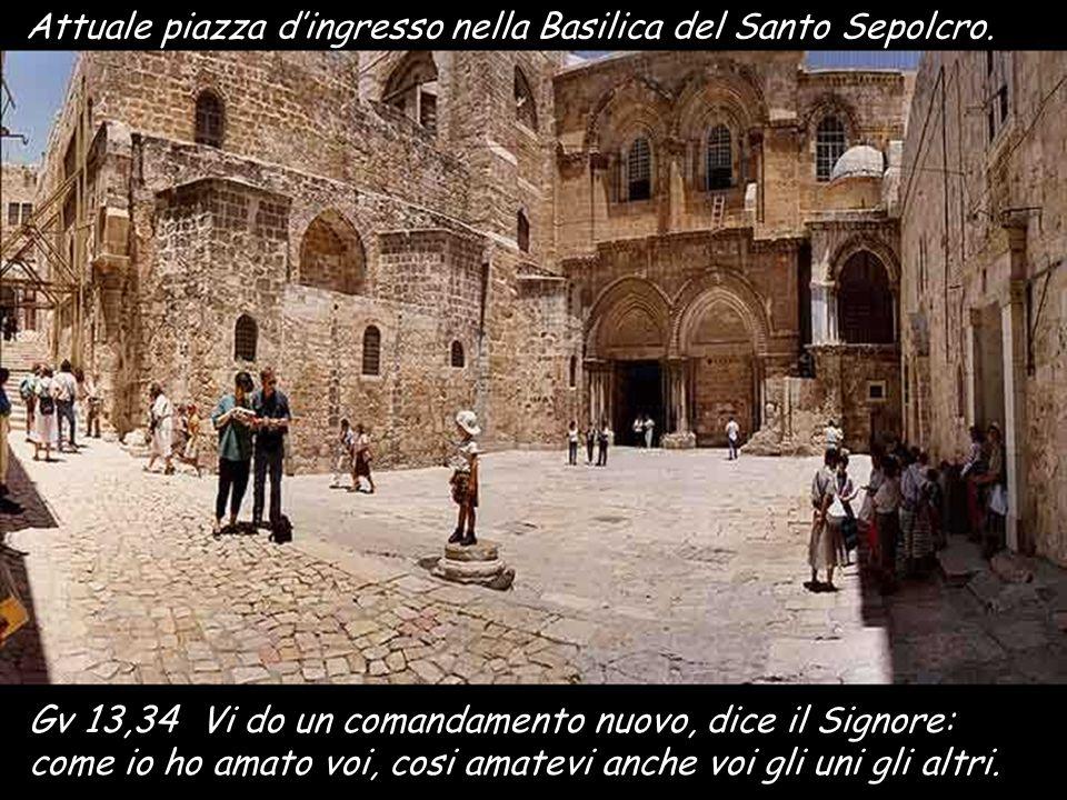 Interno della Basilica di Getsemani. La roccia ricorda il luogo dove Gesù rimase in preghiera 1Co 11,23-26 Fratelli, io ho ricevuto dal Signore quello