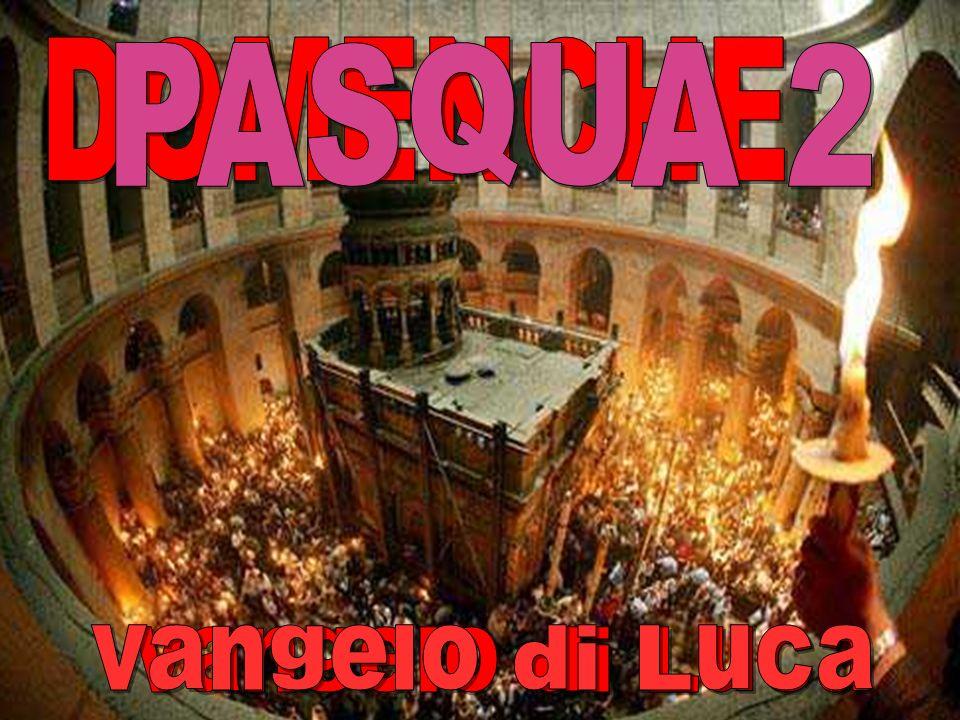 Celebrazione della Pasqua nel Santo Sepolcro Musica: Osanna di Dufay