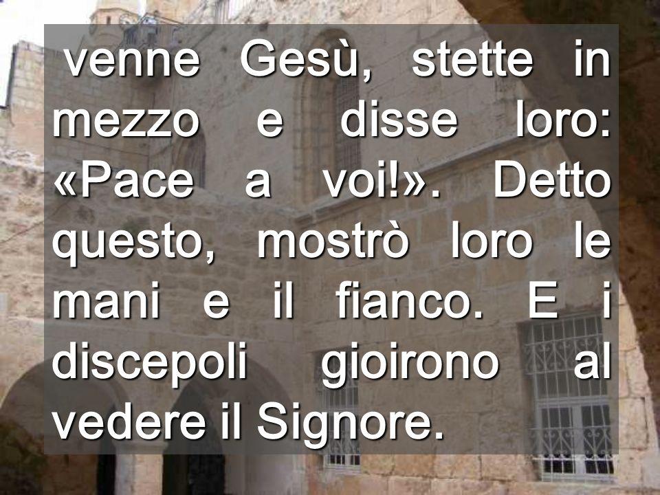 Visione dal Cenacolo Non tenete chiuse le porte, lasciate entrare laria fresca che ci porta Francesco, il nuovo Papa Cenacolo Il mondo ha bisogno di questaria nuova di Pasqua