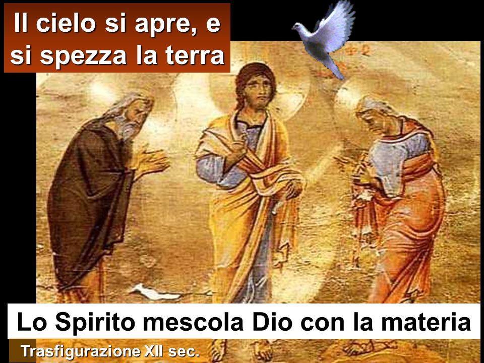 stava in preghiera, il cielo si aprì e discese sopra di lui lo Spirito Santo in forma corporea, come una colomba,