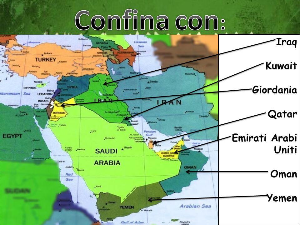 Iraq Kuwait Giordania Qatar Emirati Arabi Uniti Oman Yemen