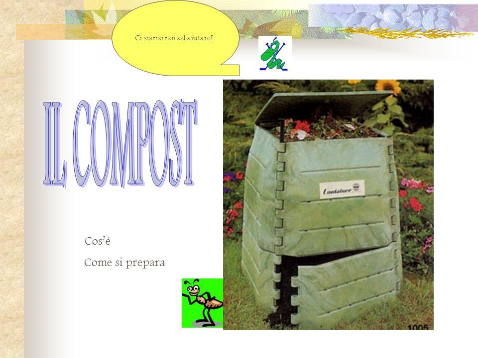 COME SI PREPARA IL COMPOST Cose il compostaggioose il compostaggio La compostieraa compostiera Cosa inserire nella compostieraosa inserire nella compostiera Fasi nel processo di compostaggioasi nel processo di compostaggio Fattori che intervengono nel compostaggioattori che intervengono nel compostaggio Animalinimali Finalmente il compost!inalmente il compost.