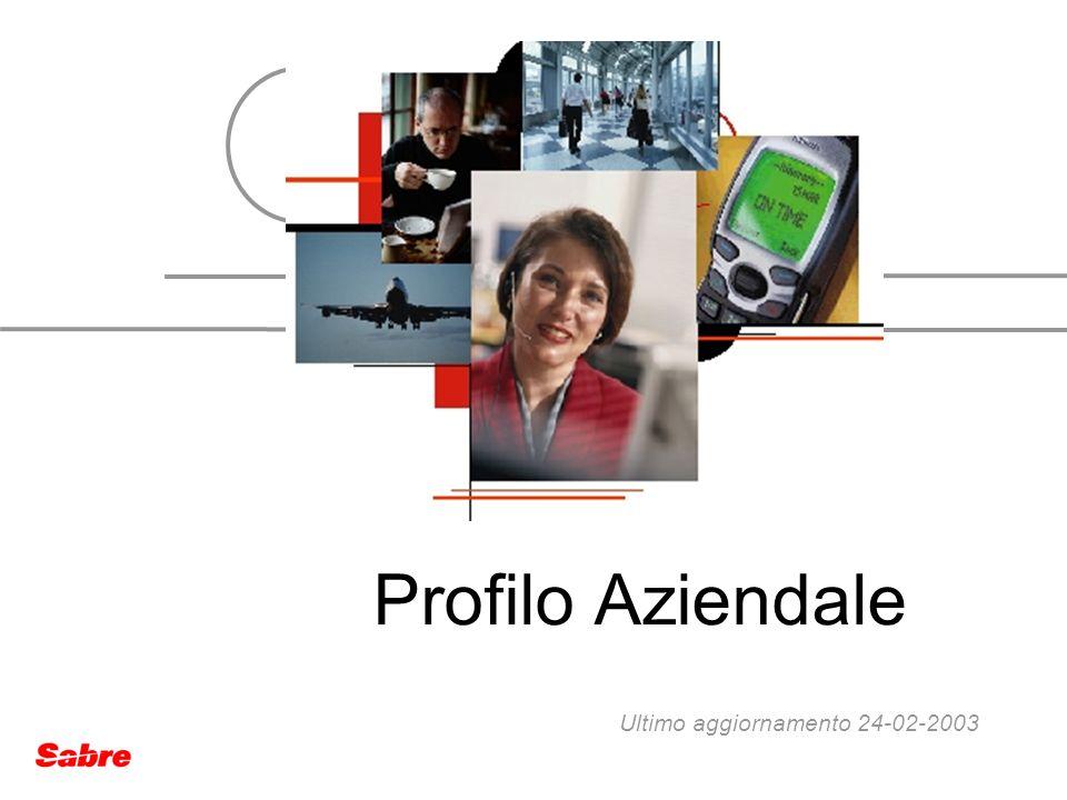Profilo Aziendale Ultimo aggiornamento 24-02-2003