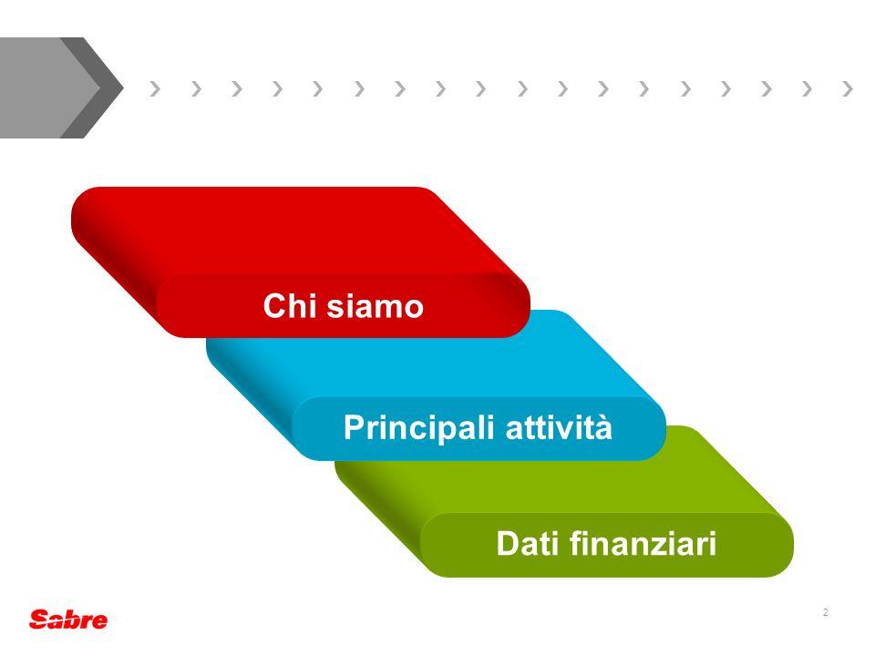 2 Dati finanziari Principali attività Chi siamo