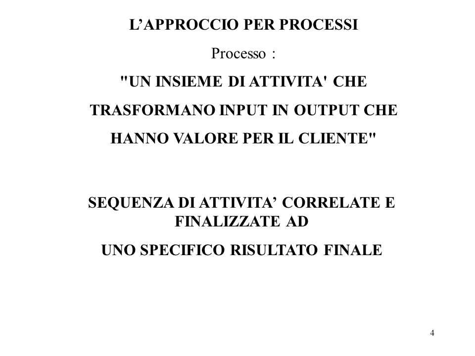 4 Processo :