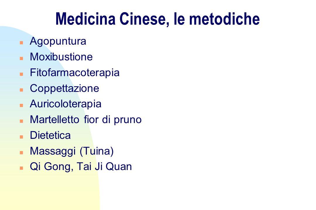 Medicina Cinese, le metodiche n Agopuntura n Moxibustione n Fitofarmacoterapia n Coppettazione n Auricoloterapia n Martelletto fior di pruno n Dieteti