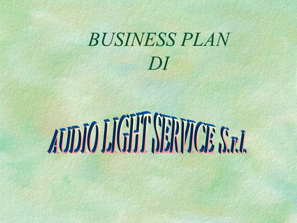 IDEA Lidea imprenditoriale (business idea) su cui si basa il progetto è di avviare unattività di servizi relativa al noleggio di luci per serate musicali e impianti di amplificazione.