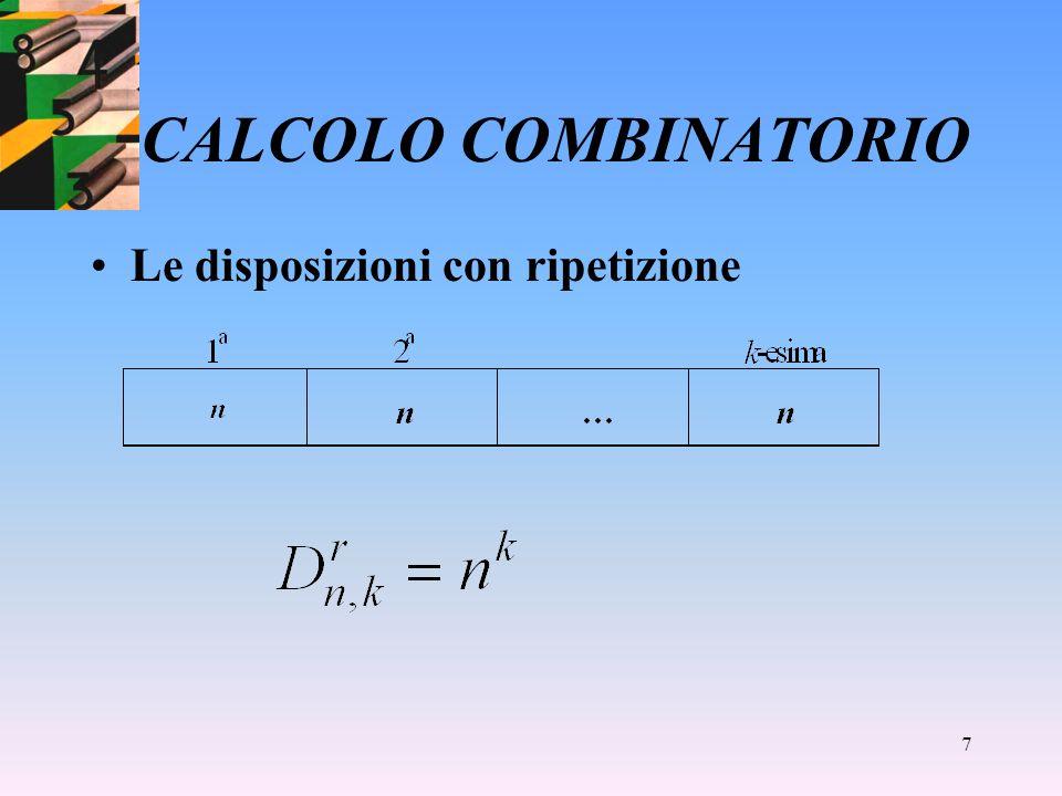 6 CALCOLO COMBINATORIO Le permutazioni circolari