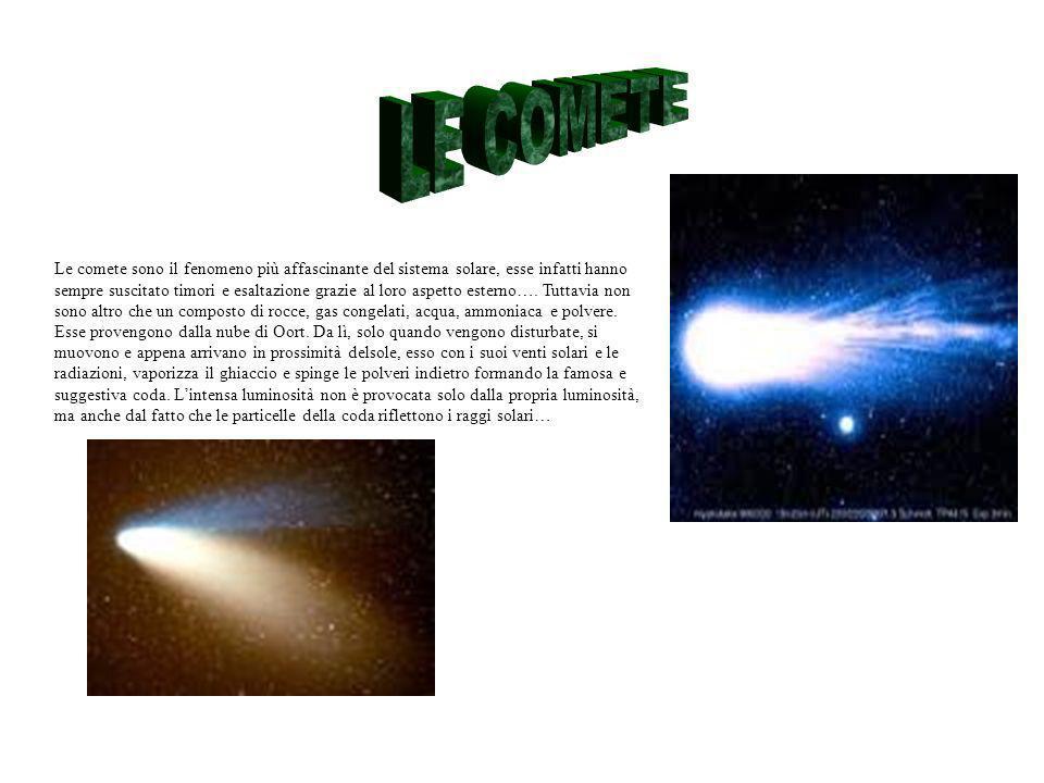Le comete sono il fenomeno più affascinante del sistema solare, esse infatti hanno sempre suscitato timori e esaltazione grazie al loro aspetto esterno….