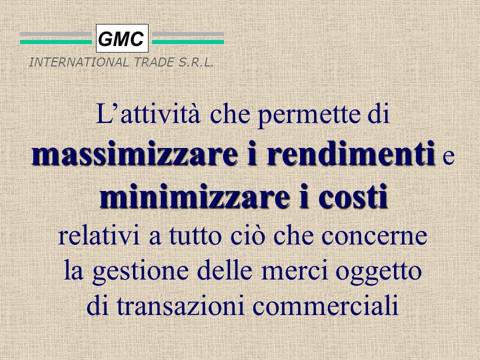 GMC INTERNATIONAL TRADE S.R.L. CHE COSÈ LA LOGISTICA MULTIFUNZIONALE?
