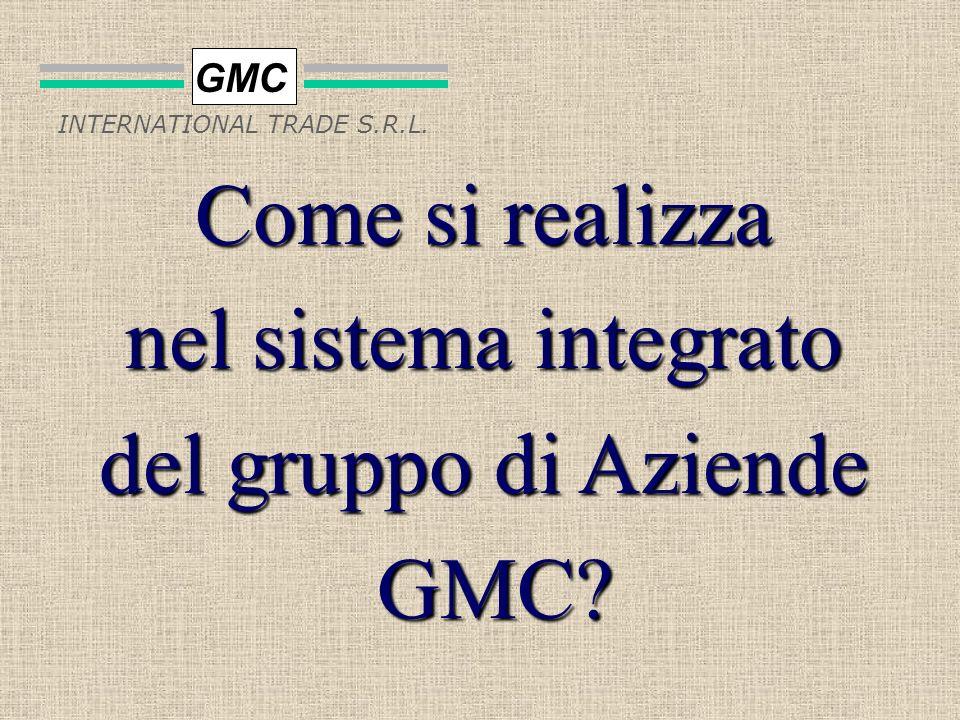 GMC INTERNATIONAL TRADE S.R.L. Lattività che permette di massimizzare i rendimenti massimizzare i rendimenti e minimizzare i costi relativi a tutto ci