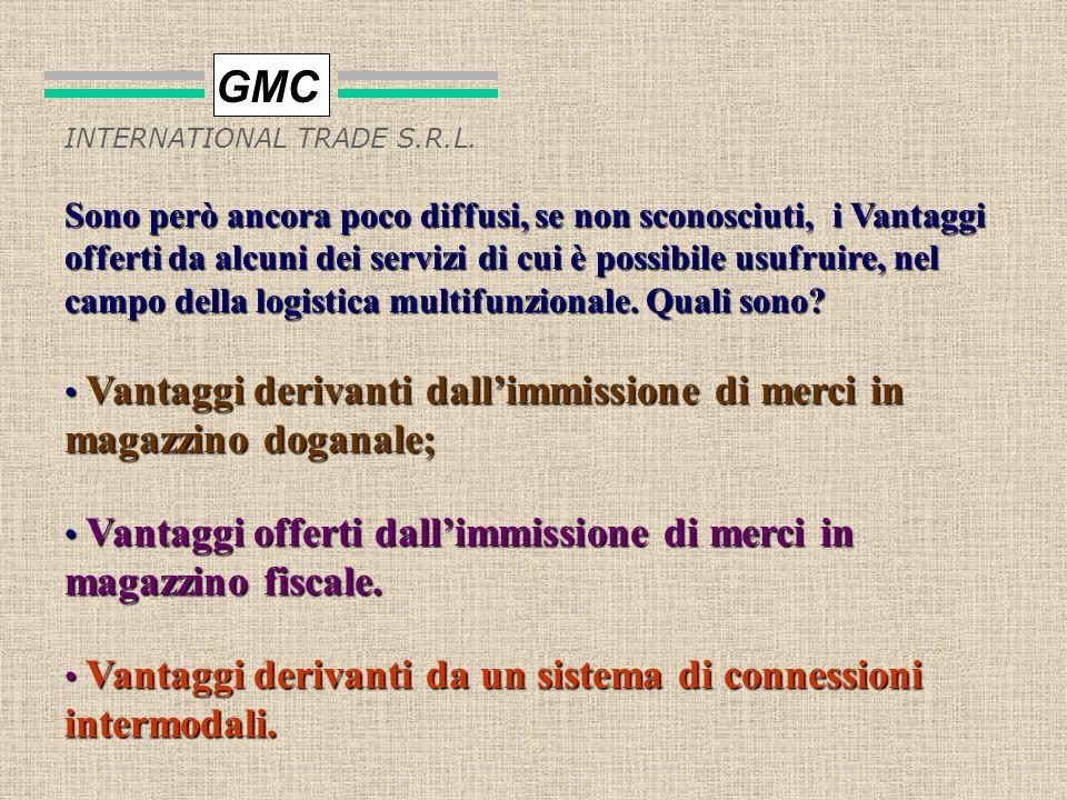 numero dipendenti 0 10 20 30 40 anni 93/9495/9697/98990001 previsione GMC INTERNATIONAL TRADE S.R.L. VARIAZIONE DELLORGANICO DEL GRUPPO GMC DAL 1993 A