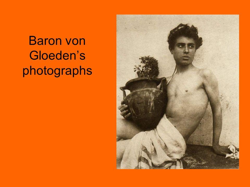 Baron von Gloedens photographs