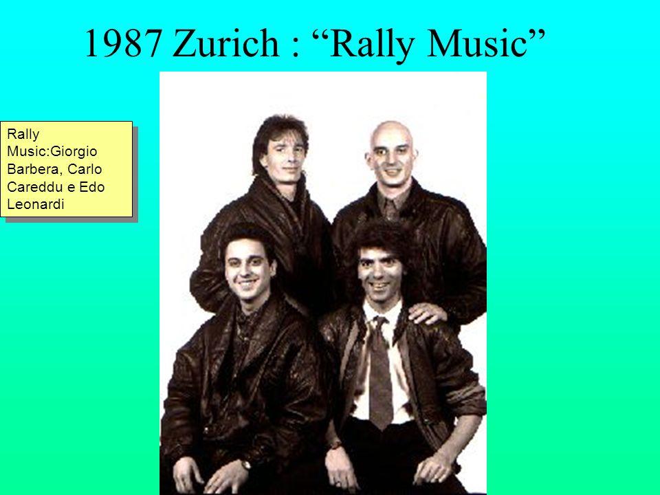 1987 Zurich : Rally Music Rally Music:Giorgio Barbera, Carlo Careddu e Edo Leonardi