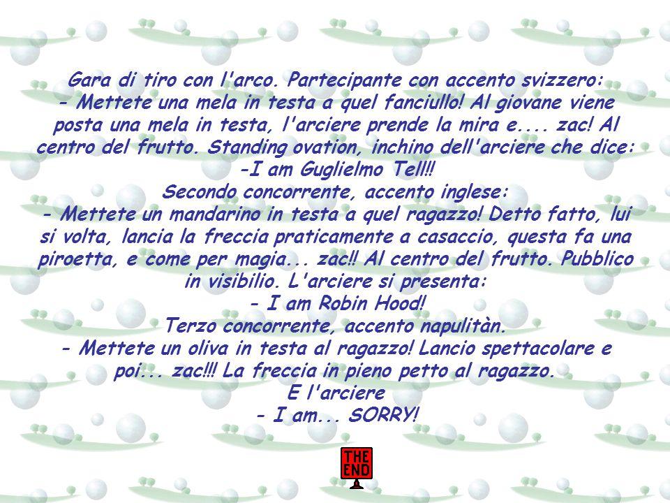 Sondaggio in Italia: Che cosa è il