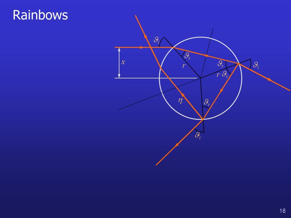 16 Rainbows i i i r r r r x r r