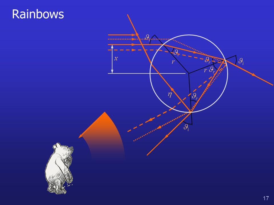 17 Rainbows i i i r r r r x r r
