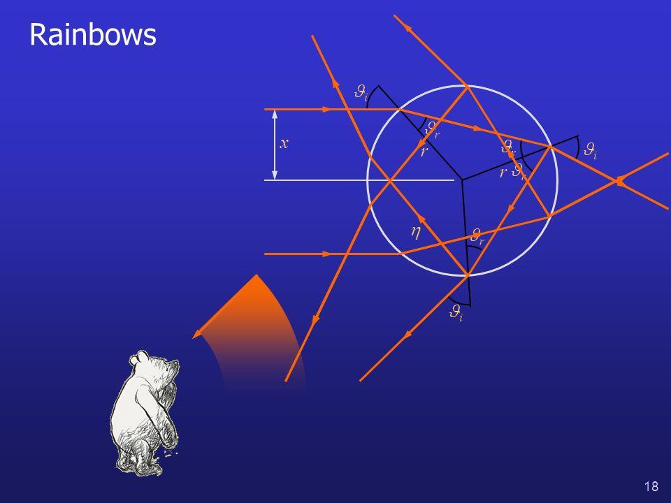 18 Rainbows i i i r r r r x r r