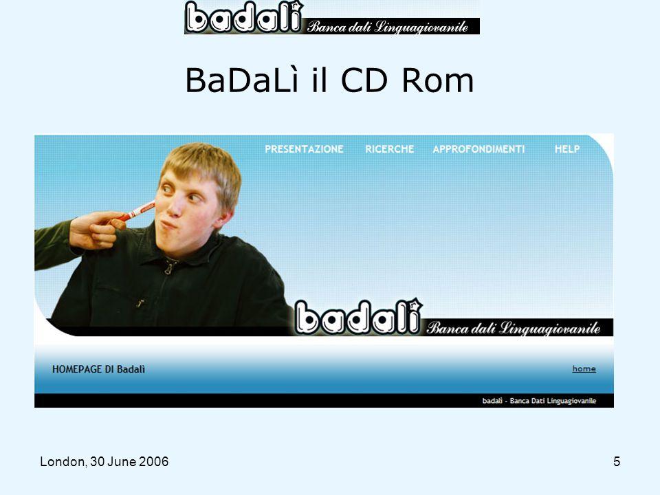 5 BaDaLì il CD Rom
