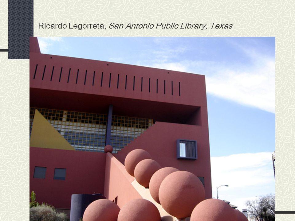Ricardo Legorreta, San Antonio Public Library, Texas