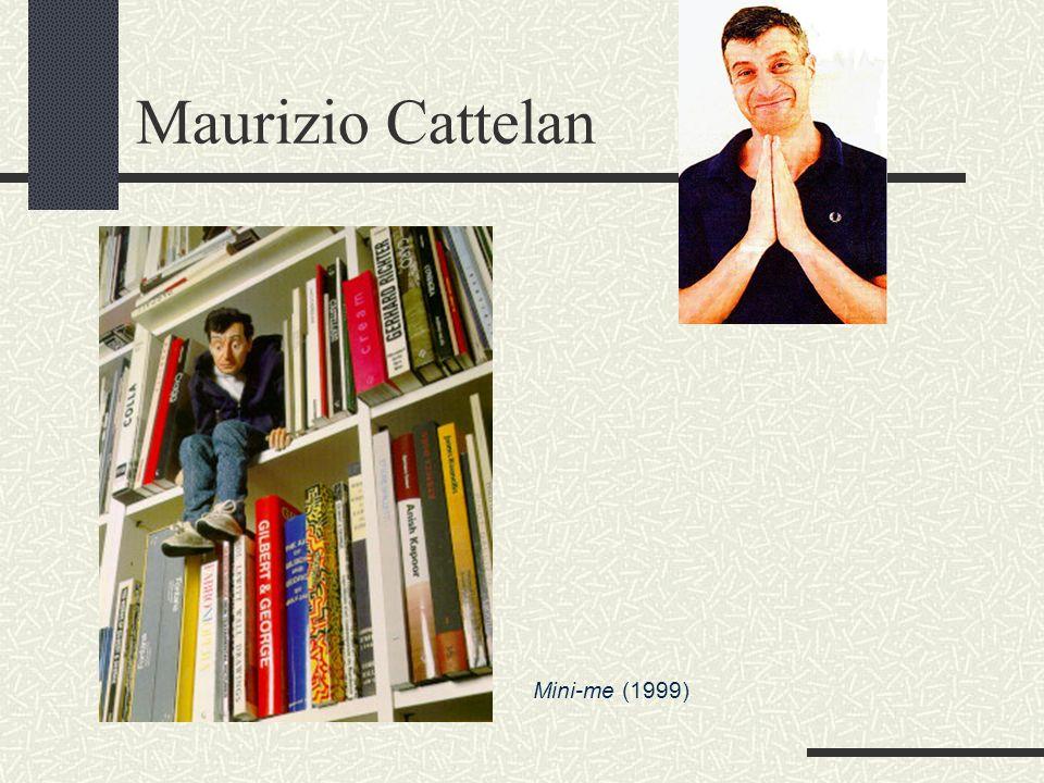 Maurizio Cattelan Mini-me (1999)