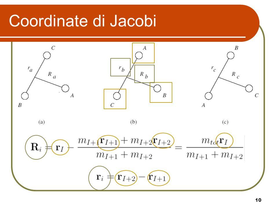 10 Coordinate di Jacobi