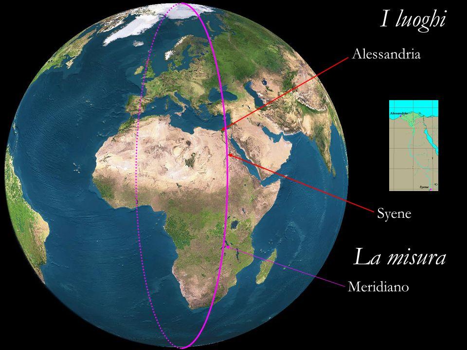 Alessandria Syene Meridiano I luoghi La misura