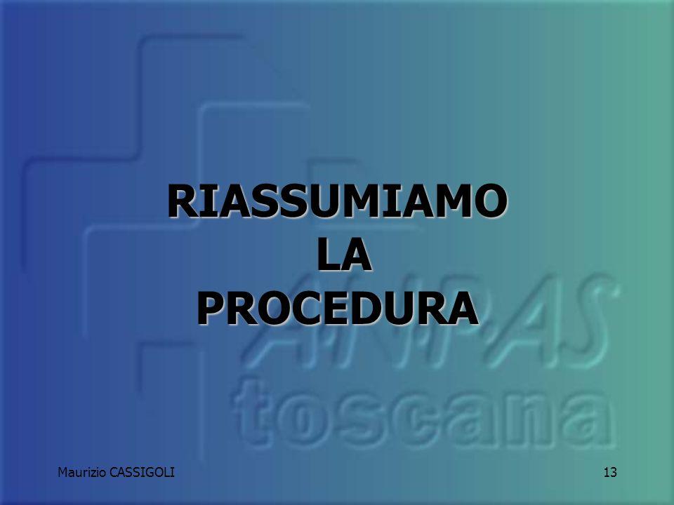 Maurizio CASSIGOLI12 ANABBAGLIANTI LAMPEGGIANTI SIRENA