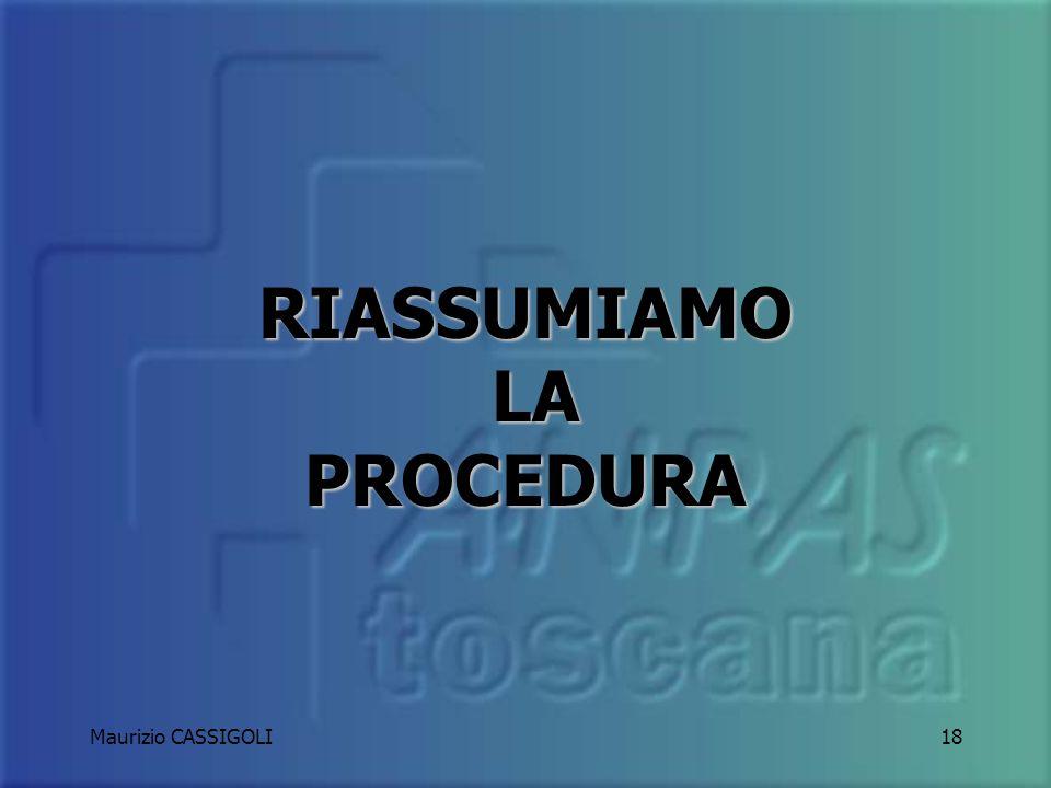 Maurizio CASSIGOLI17 Limportante è arrivare.