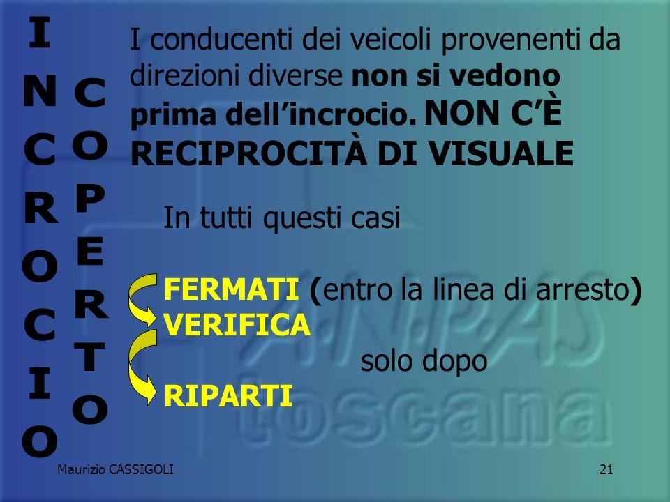 Maurizio CASSIGOLI20 INCROCIO