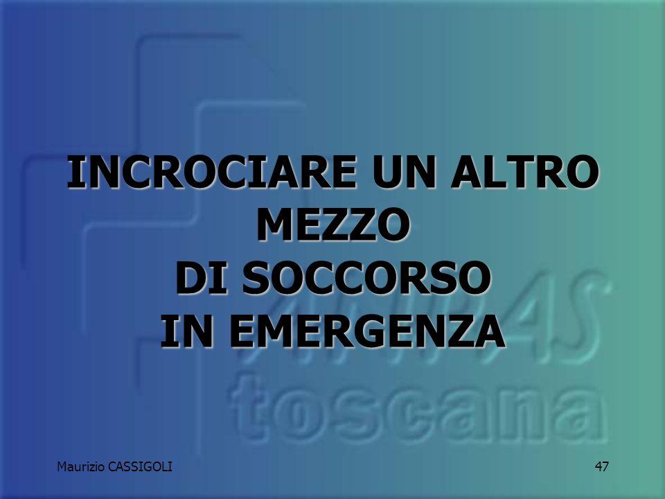 Maurizio CASSIGOLI46