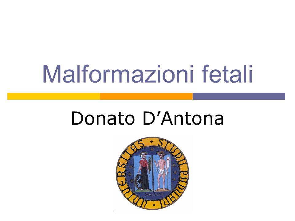 Malformazioni fetali Donato DAntona
