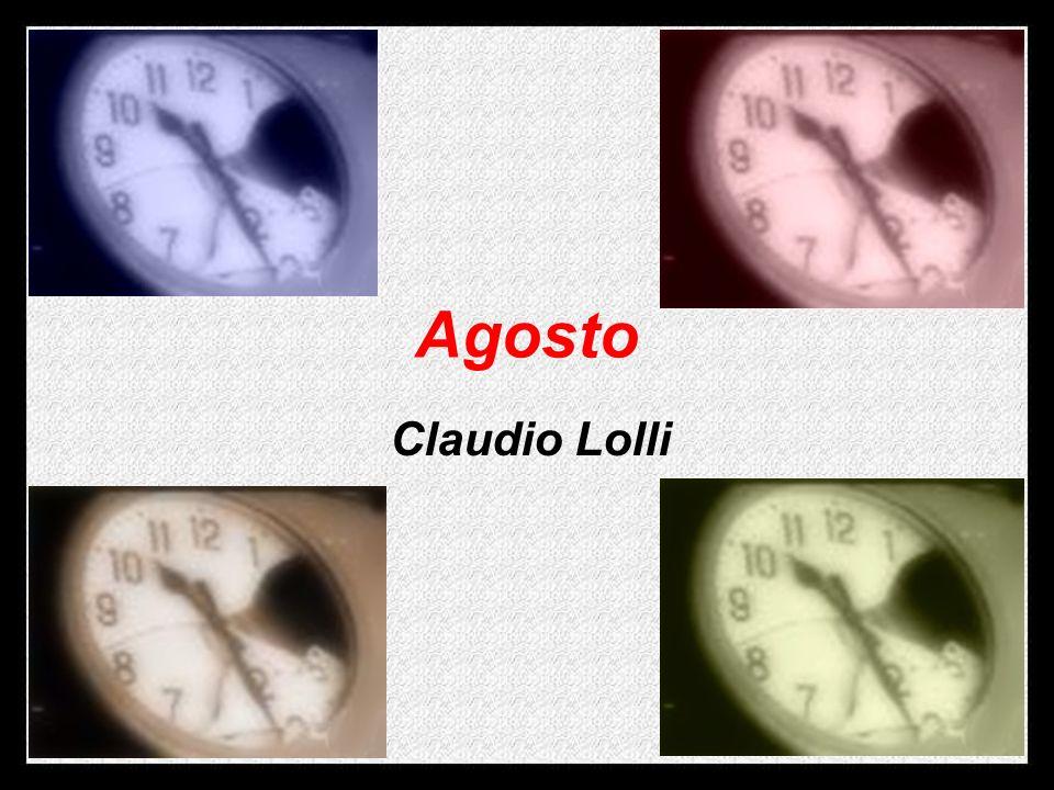 Agosto Claudio Lolli