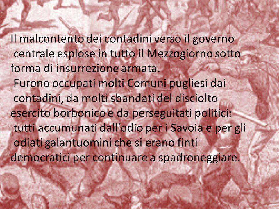 Salvatore Morelli (1824-1880) di Carovigno (Br), giurista mazziniano, si affiliò alla >.