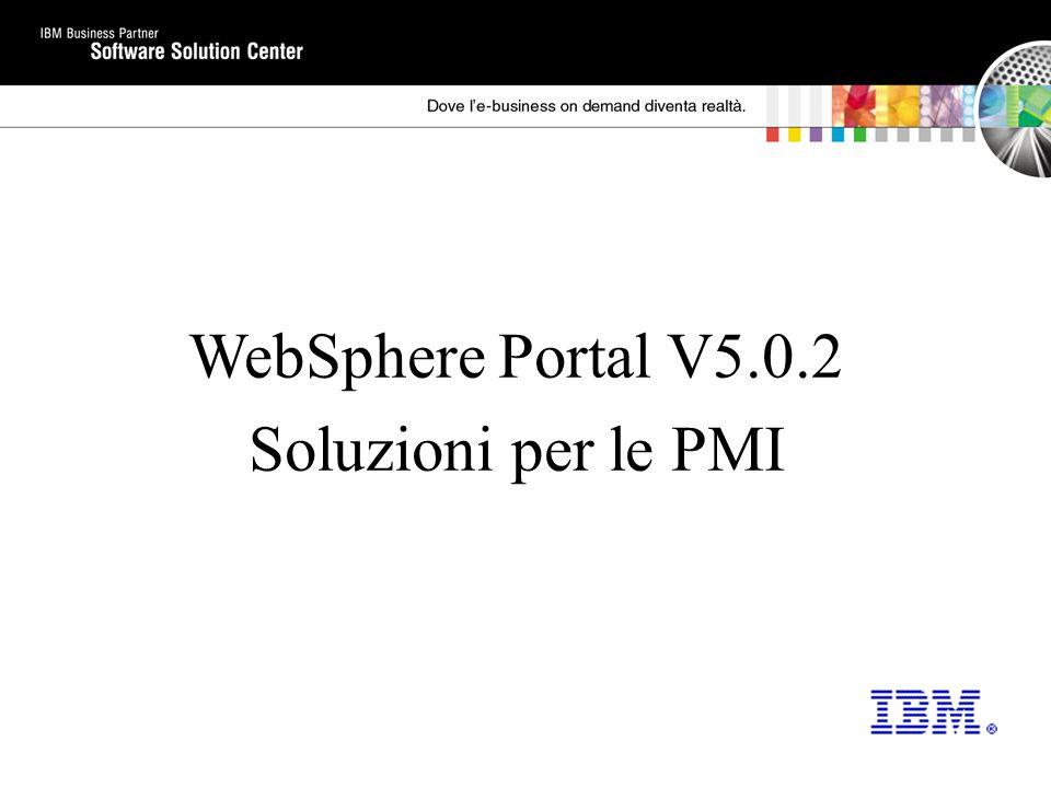 WebSphere Portal V5.0.2 Soluzioni per le PMI