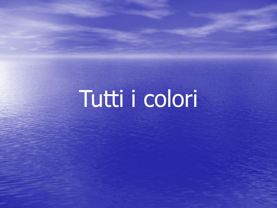 Tutti i colori