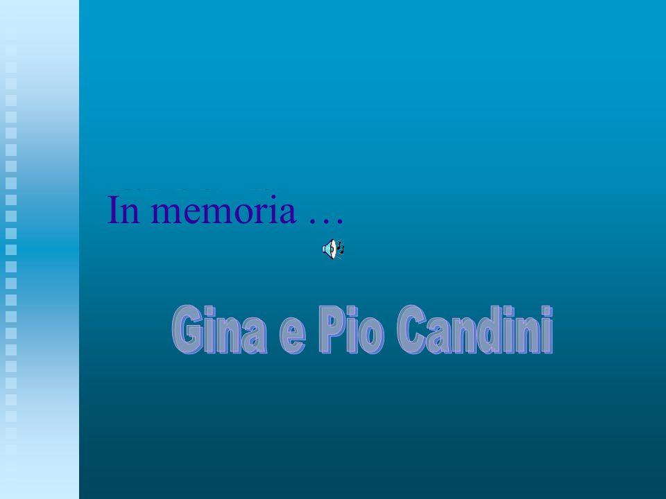 In memoria …