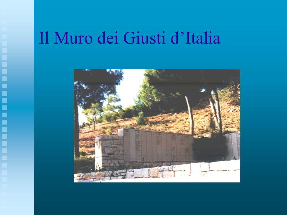 Il Muro dei Giusti dItalia