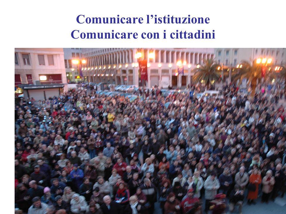 Comunicare listituzione Comunicare con i cittadini