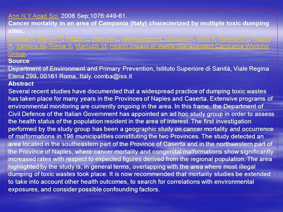 Ann N Y Acad Sci.Ann N Y Acad Sci.2006 Sep;1076:449-61.