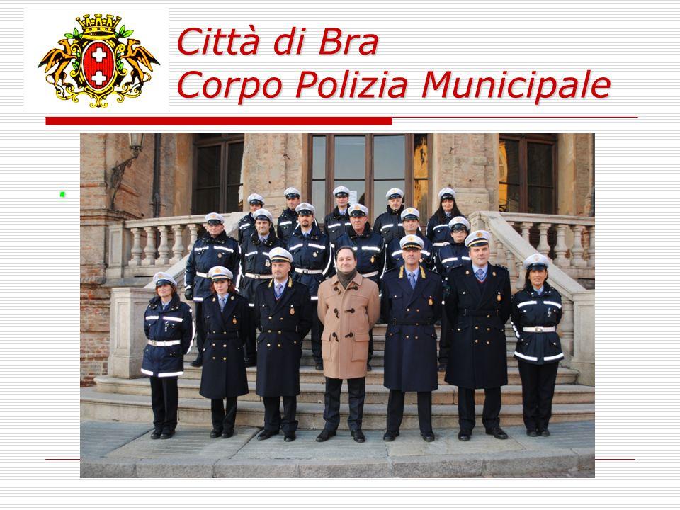 Città di Bra Corpo Polizia Municipale.