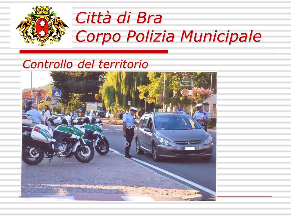 Città di Bra Corpo Polizia Municipale 190 incidenti stradali rilevati di cui: 3 persone decedute; 72 con feriti in cui sono rimaste ferite 108 persone; 115 con soli danni a cose.