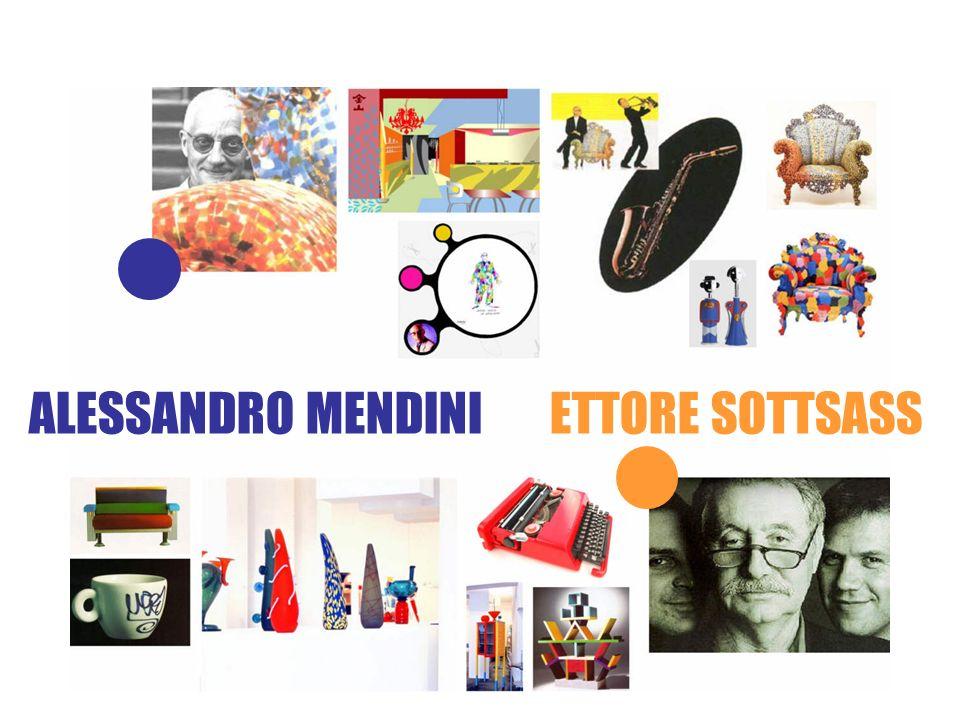 Gruppo MEMPHIS ALESSANDRO MENDINI ETTORE SOTTSASS
