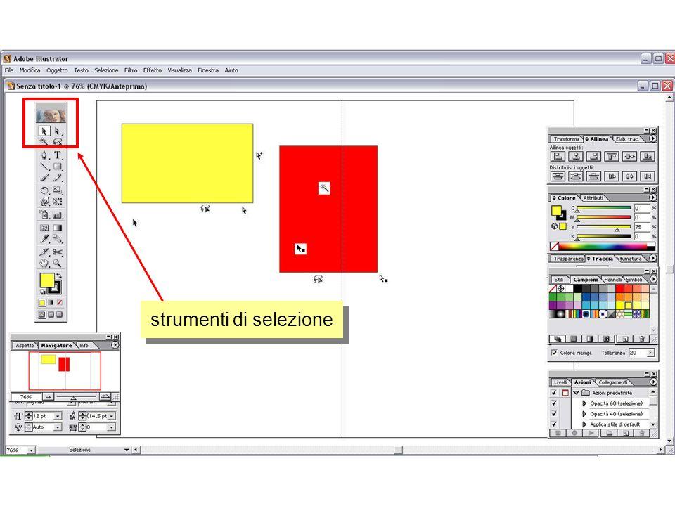 strumento matita ed editing modificati