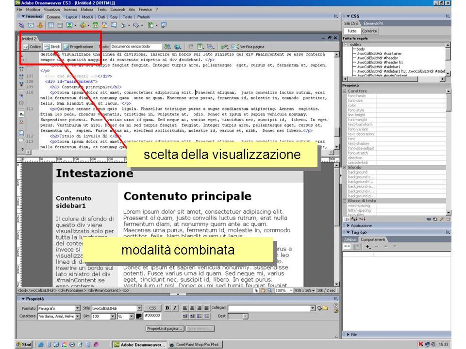 editing background – immagine sfondo scelta delle impostazioni