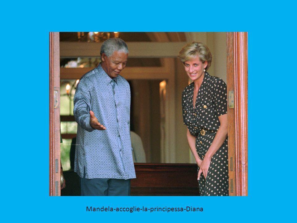 Bill Clinton e Nelson Mandela il 4 luglio 1993